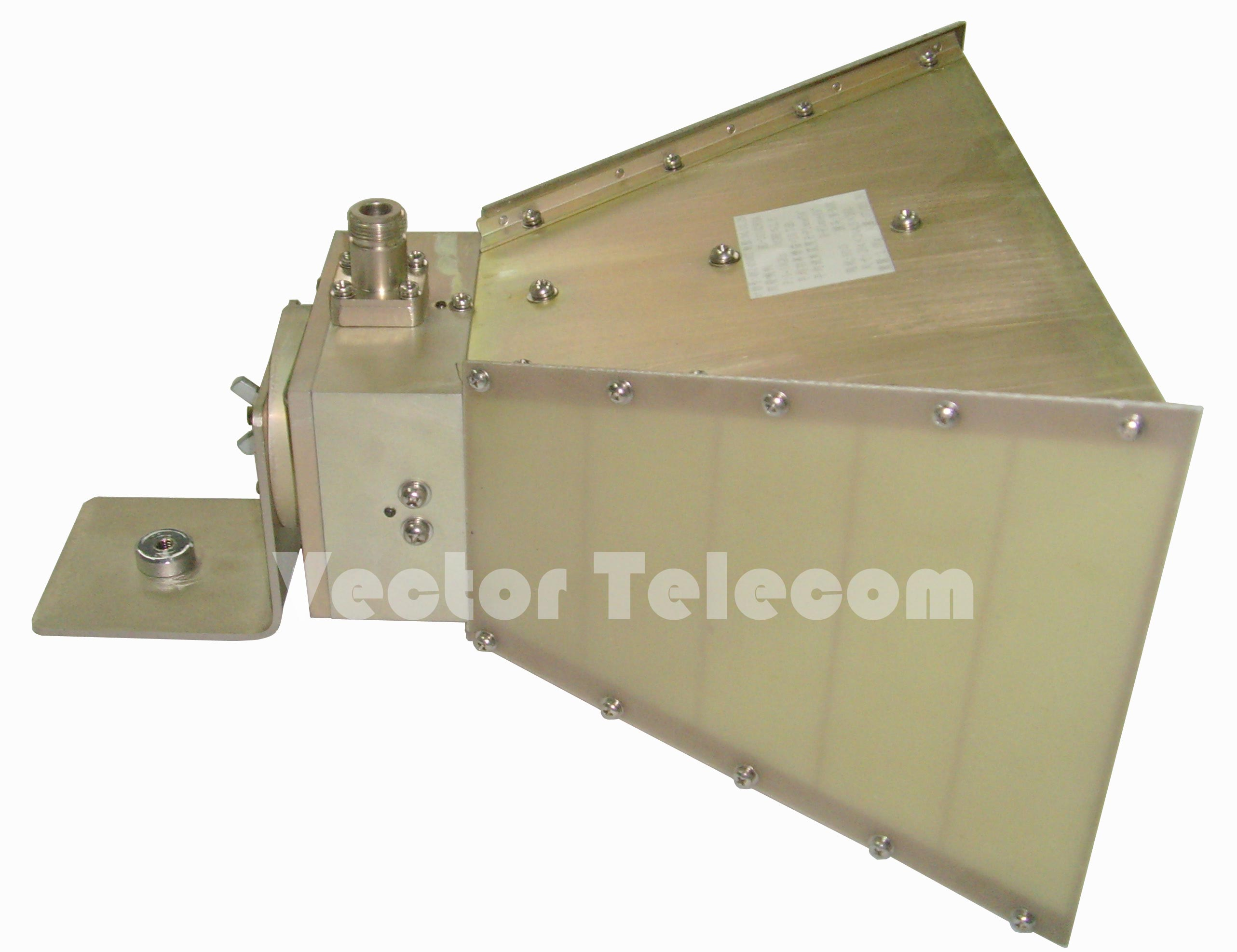 Wideband Dual-Ridged Horn Antenna