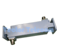 Broadwall Directional Coupler - Dual-arm 2 WG Ports & 2 Coax Ports